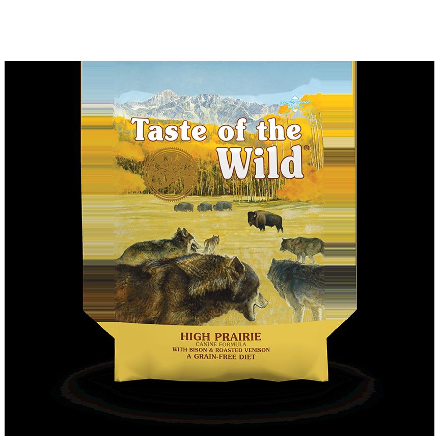 טייסט אוף דה ווילד פריירי – בשר ביזון ואייל High Prairie package photo