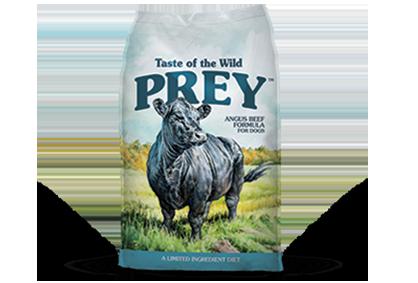 טייסט אוף דה ווילד Prey - בקר אנגוס Angus Beef Limited Ingredient Formula for Dogs package photo