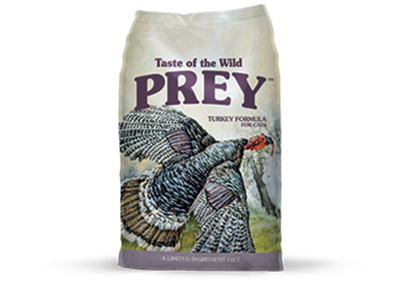 טייסט אוף דה ווילד Prey - הודו Turkey Limited Ingredient Formula for Cats package photo