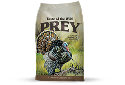 טייסט אוף דה ווילד Prey - הודו Turkey Limited Ingredient Formula for Dogs package photo