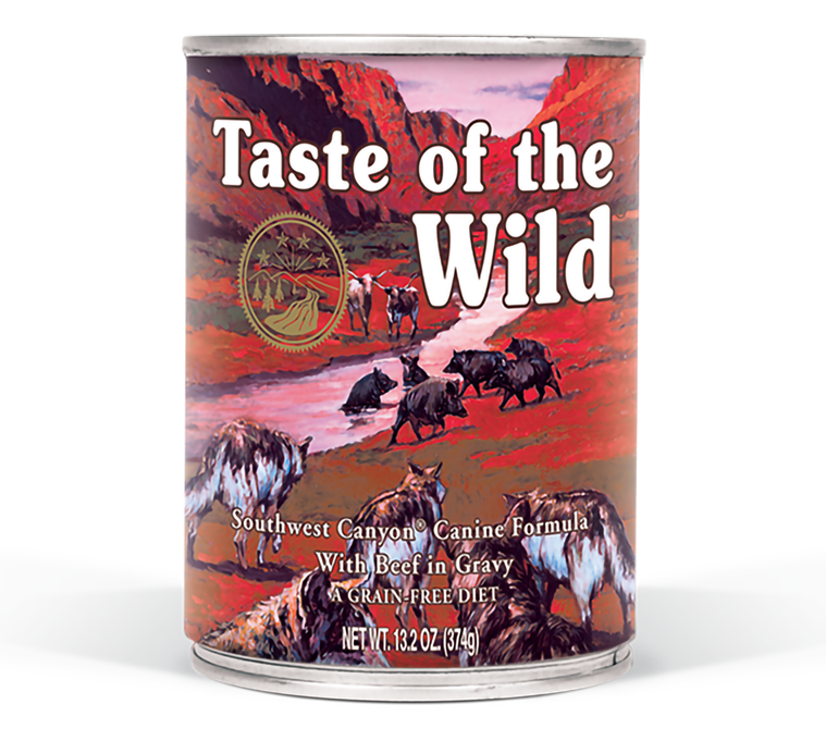 טייסט אוף דה ווילד סאוטווסט – בשר בקר טרי ברוטב Southwest Canyon in Gravy package photo