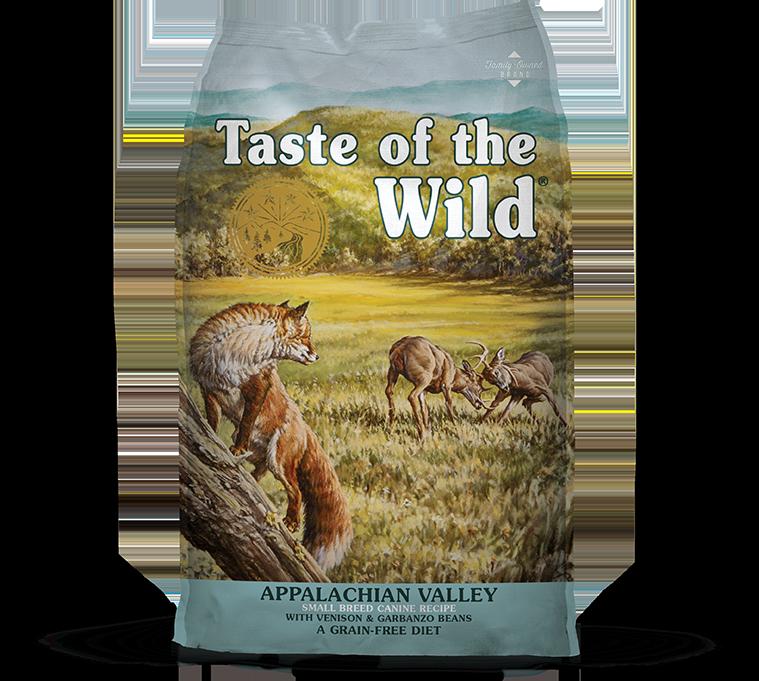 טייסט אוף דה ווילד לגזעים קטנים – בשר צבי וחומוס Appalachian Valley package photo