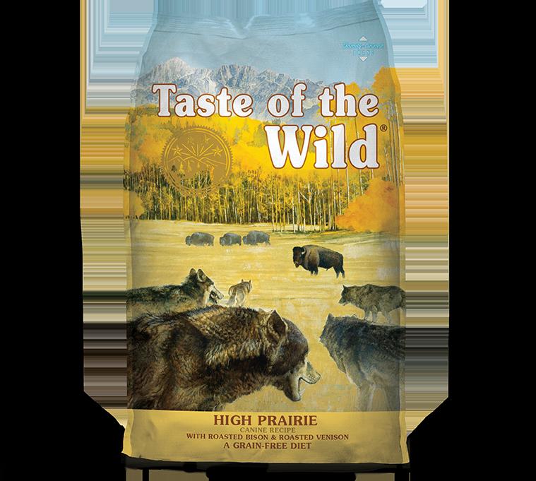 טייסט אוף דה ווילד פריירי – בשר ביזון וצבי High Prairie package photo